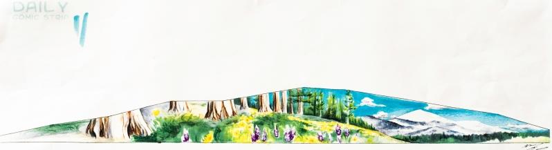 Mural Artwork by Daniel Lopez for Post Street Hill