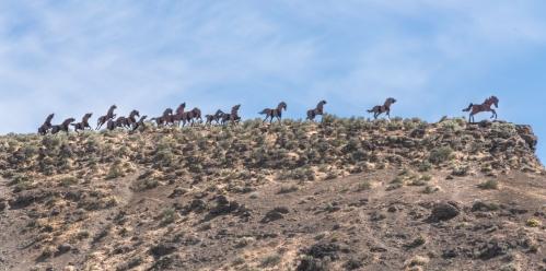 Wild Horses Monument Vantage WA