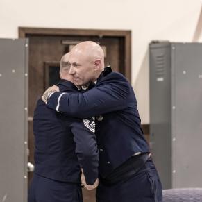 congratulations hug