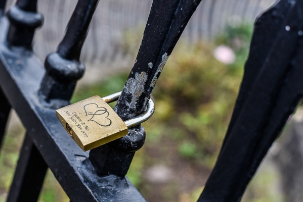Love Lock in Bath England12