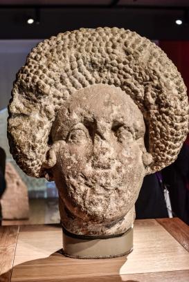 Roman Stone Carving in Bath England8
