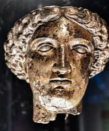 Roman Stone Carving in Bath England9