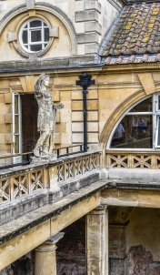 Statue of Constantine Bath England5